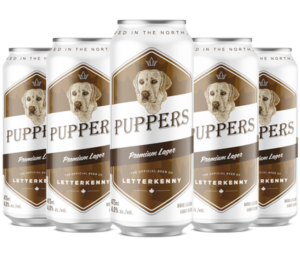 Puppers cans